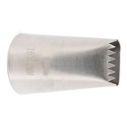 Boquilha Inox Serra 16x2mm