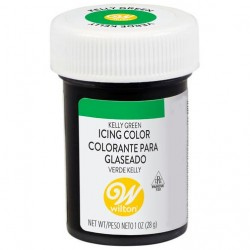 Corante em Gel Kelly Green (Verde) 28g Wilton