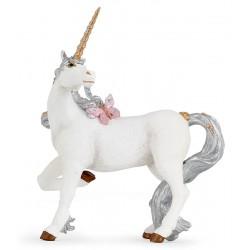 Unicornio Prateado