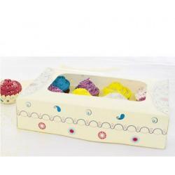 Caixa Pasley 12 Cupcakes