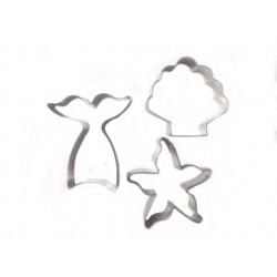 Cortante Cauda Sereia - Estrela do Mar - Concha