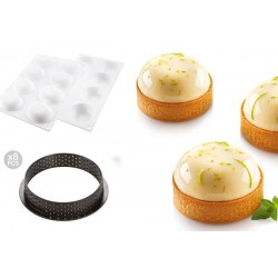 Kit Tarte Ring Palet Ø 70 mm Silikomart