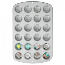 Tabuleiro 24 Mini Queques
