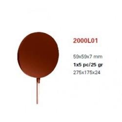 Molde de Policarbonato Magnetico Lollypop