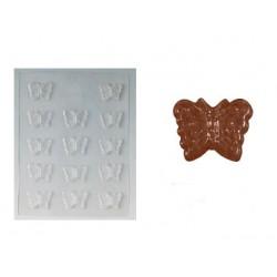 Molde Borboletas Chocolate