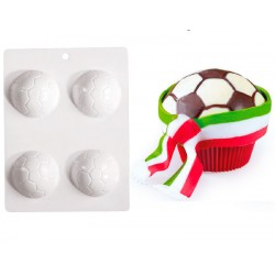 Molde Bolas Futebol Chocolate