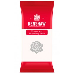 Pasta de Modelagem/Flores Branco 1kg Renshaw
