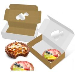Caixa Kraft | Branca | Doces