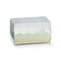 Caixa Verde Elegante| Doces | 16x5x5cm