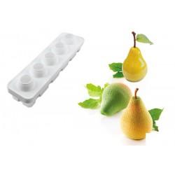 Molde Silicone Pera & Figo Silikomart