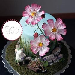 Cortantes Flor Cosmos