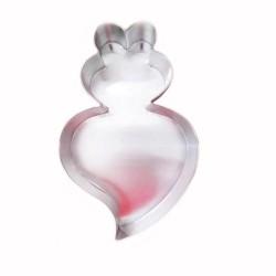 Forma Bolo Coração de Viana