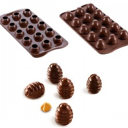 Molde Silicone Choco Spiral 3D