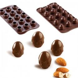 Molde Silicone Choco Drop 3D