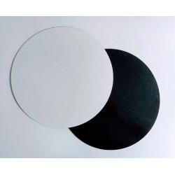 Base Bolos | Branca & Preta | 26cm