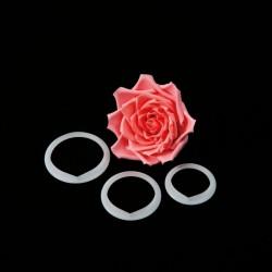 Cortante petalas rosa