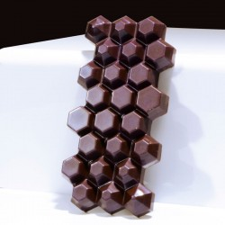 Molde Policarbonato Tablete | Hexagon Chocolate Bar