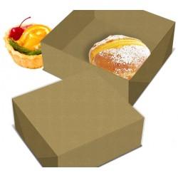Caixa Kraft Bolos Pasteis