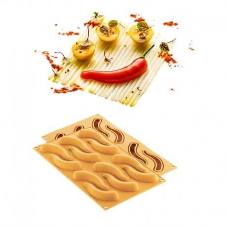 Molde Silicone Magaleta | Peperoncino Silikomart