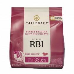 Chocolate Ruby Callebaut 400g