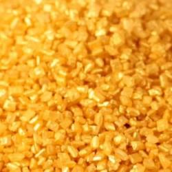 Cristais Açúcar Dourado | Sugar Crystals Metallic Gold