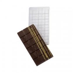 Molde Plástico Tablete Chocolate