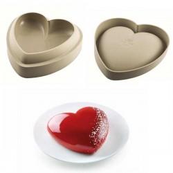 Forma Silicone Batticuore | Coração