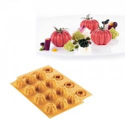 Molde Silicone Tomate| Pomodoro 24 Silikomart