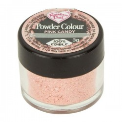 Corante Pó Rosa | Pink Candy Rainbow Dust