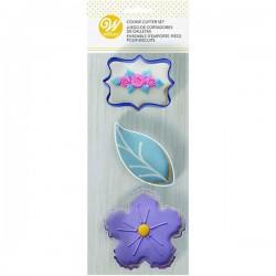 Cortantes Floral Wilton
