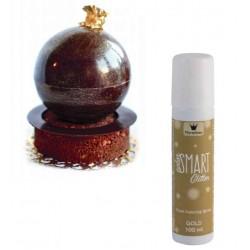 Corante Spray Dourado 100ml | Smart Glitter