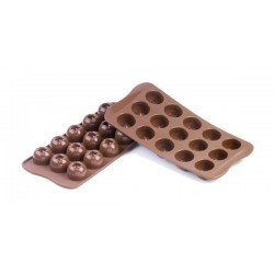 SILICONE - MOLDE BOMBONS IMPERIAL CX.