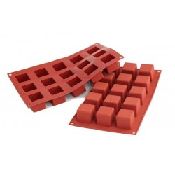 Molde Silicone Cubos