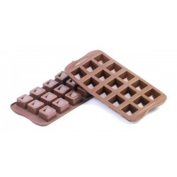 SILICONE - MOLDE BOMBONS CUBO CX