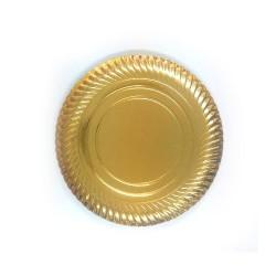 Pratos Dourados -Vários Tamanhos