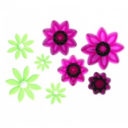 PME - JEM POINTED EIGHT PETAL DAIY SET/4