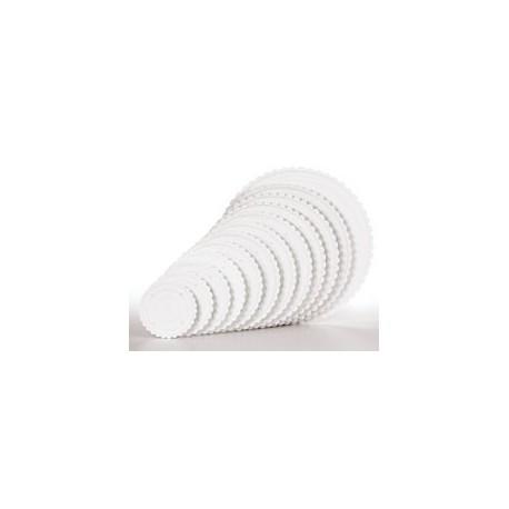 Wilton-Placas Separadoras Redondas (Decorador Preferred ®)