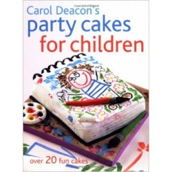 LIVROS - CAROL DEACON´S PARTY CAKES FOR CHILDREN
