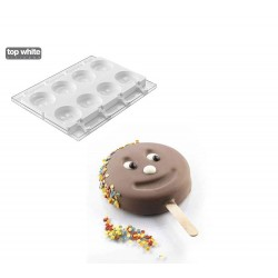 Molde Silicone Smile com Sticks