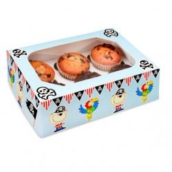 Caixa Cupcakes Pirtas