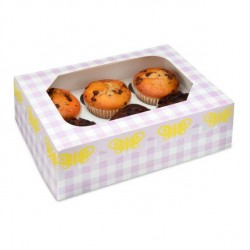 Caixa 6 Cupcakes Borboletas