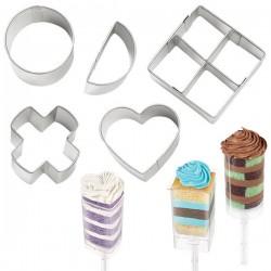Cortantes Cake Pops -Conjunto de 5