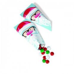 Sacos em Cone Pai Natal
