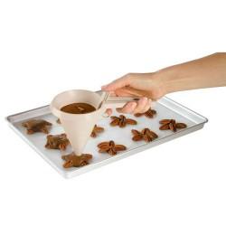 Wilton-Funil de plástico para chocolate
