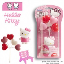 Kit Decorativo Hello Kitty com Balões
