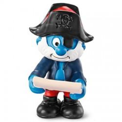 Smurf Pirata Capitão