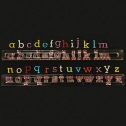 Cortante Marcador Alfabeto Minusculas