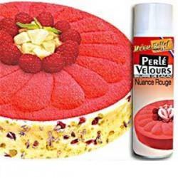 Spray Veludo Manteiga de Cacau Vermelho