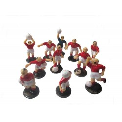 Jogadores de Futebol Vermelhos