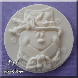 Molde Silicone Boneco de Neve
